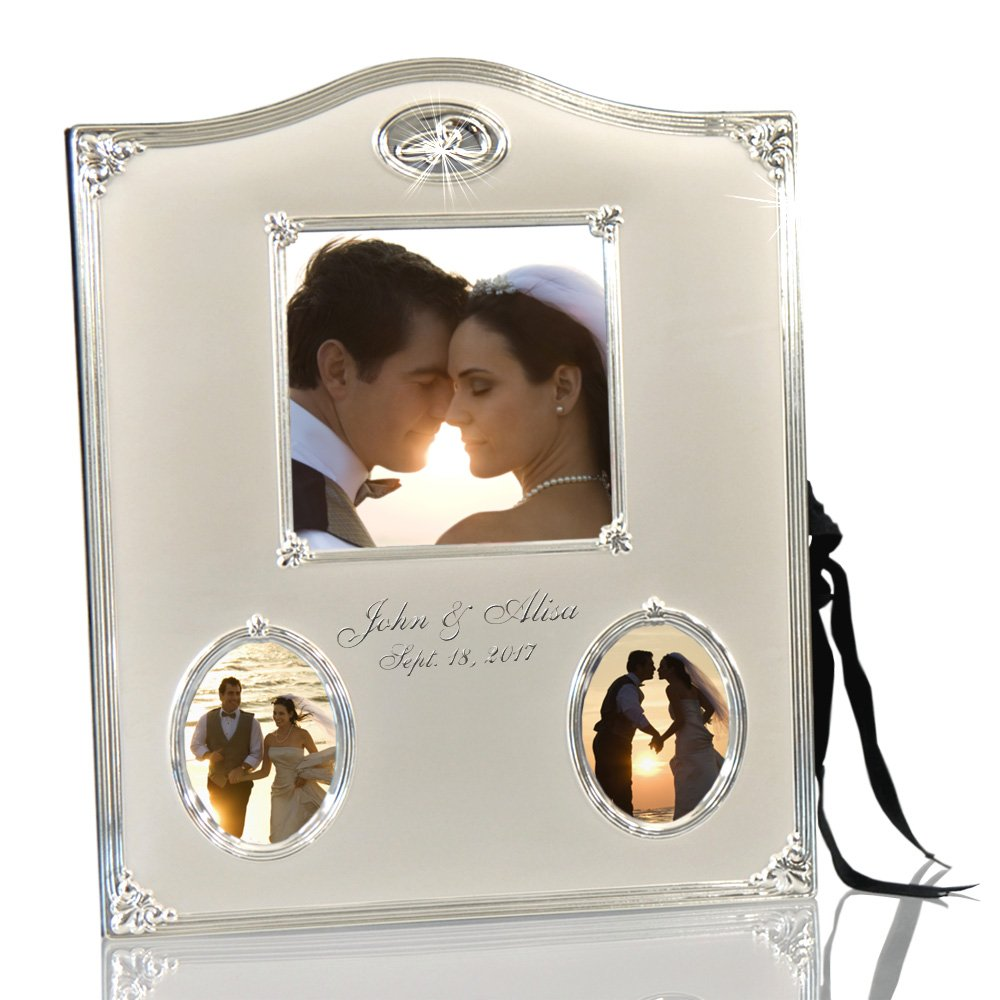 Thanh 39 Personalized Gifts - Silver Wedding Ring Photo Album by Leeber Limited