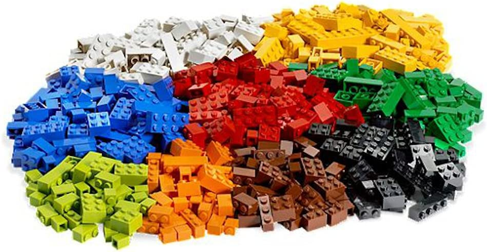 "FREE SHIPPING /"" Brand NEW /"" LEGO Parts 1lb Ramdom 500 Pieces Bulk Lot Brand NEW"