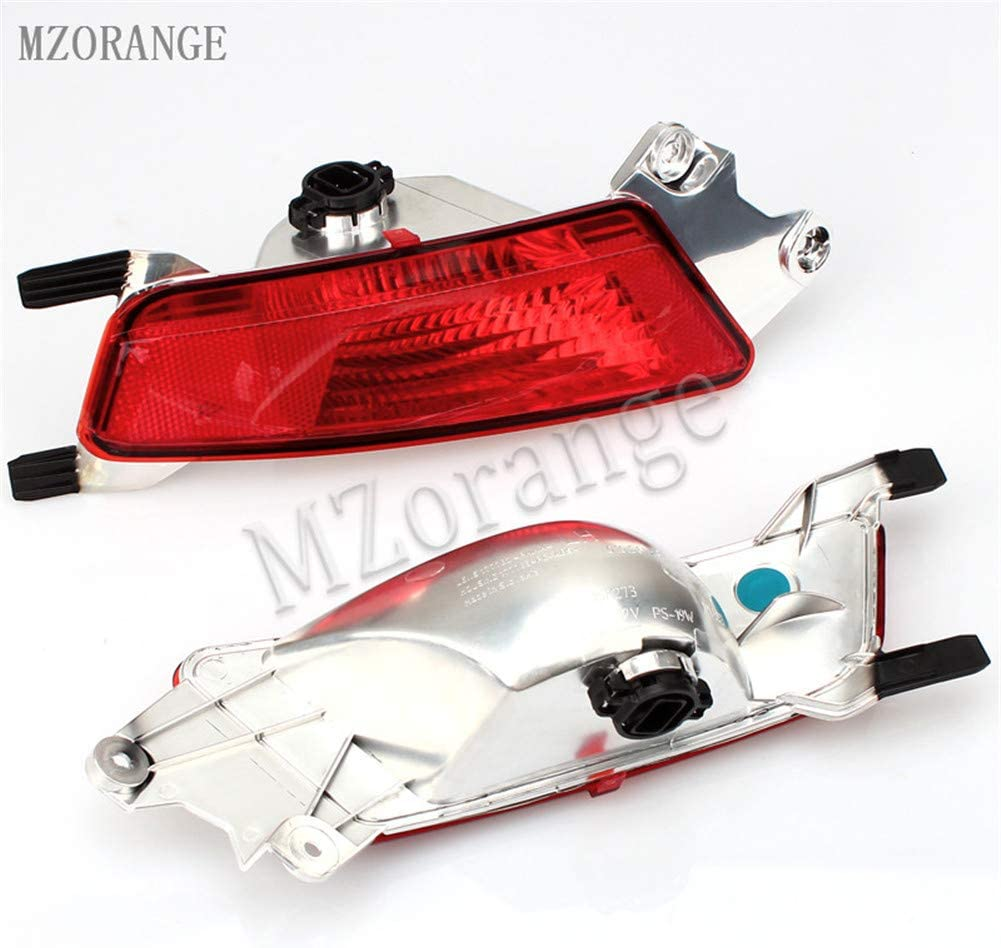 Left and right Clidr Rear Bumper Fog Light Tail Lamp With Bulb For Range Rover Evoque 2012 2013 2014 Left Right Side