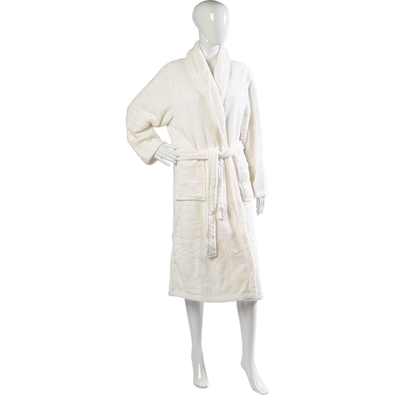 Slenderella Ladies Luxurious Soft Fleece Dressing Gown Wrap Around with Pockets  S-XL Various Colours  Amazon.co.uk  Clothing 30094088e