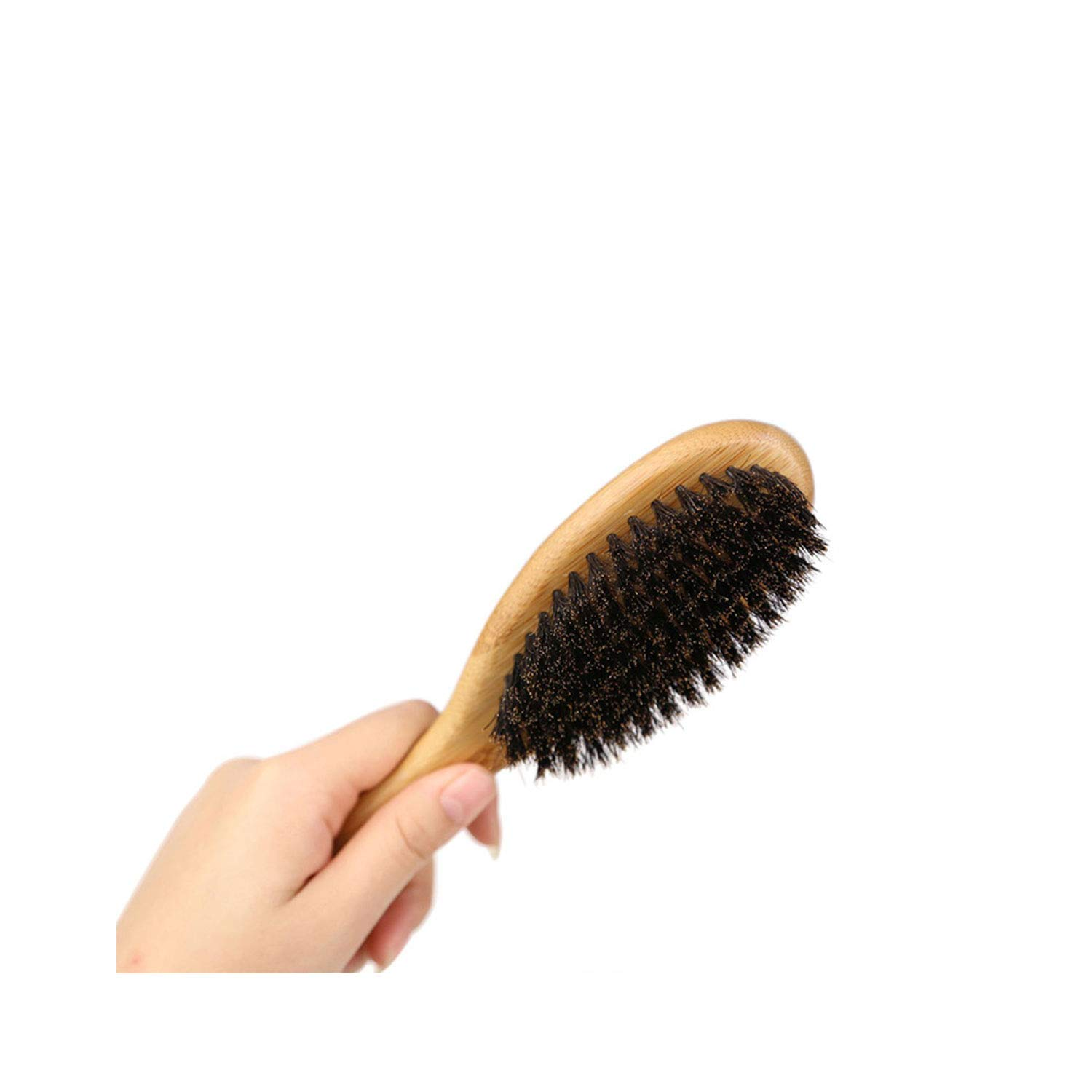 TJMWL Wooden Dog Hair Hair Removal Brush Smooth Finish Beauty Brush Dog Hair Hair Removal Tool Suitable for Large, Medium and Small pet Hair Removal Device