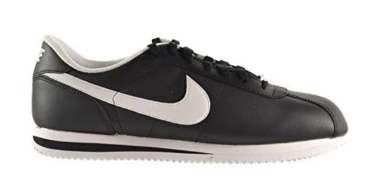 finest selection d071f 65747 ... clearance amazon nike cortez basic leather 06 mens walking shoes black  white 316418 012 walking bf1b2