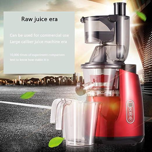 Máquina de zumo de gran diámetro para frutas y verduras ...