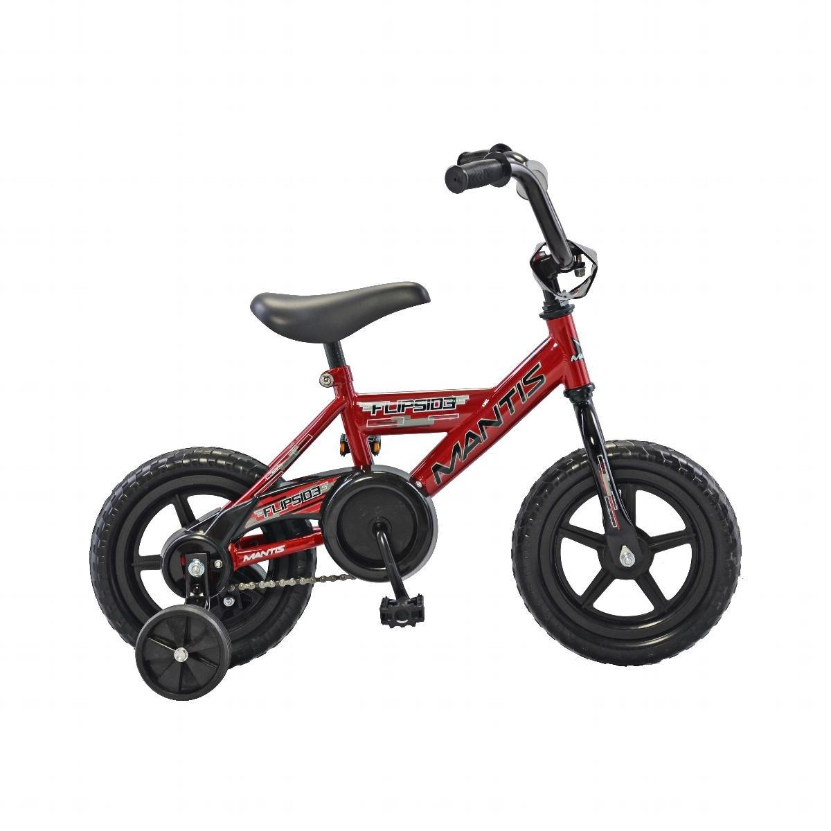 Mantis Flipside 12子供用自転車 B072FHPG66レッド 12 inch