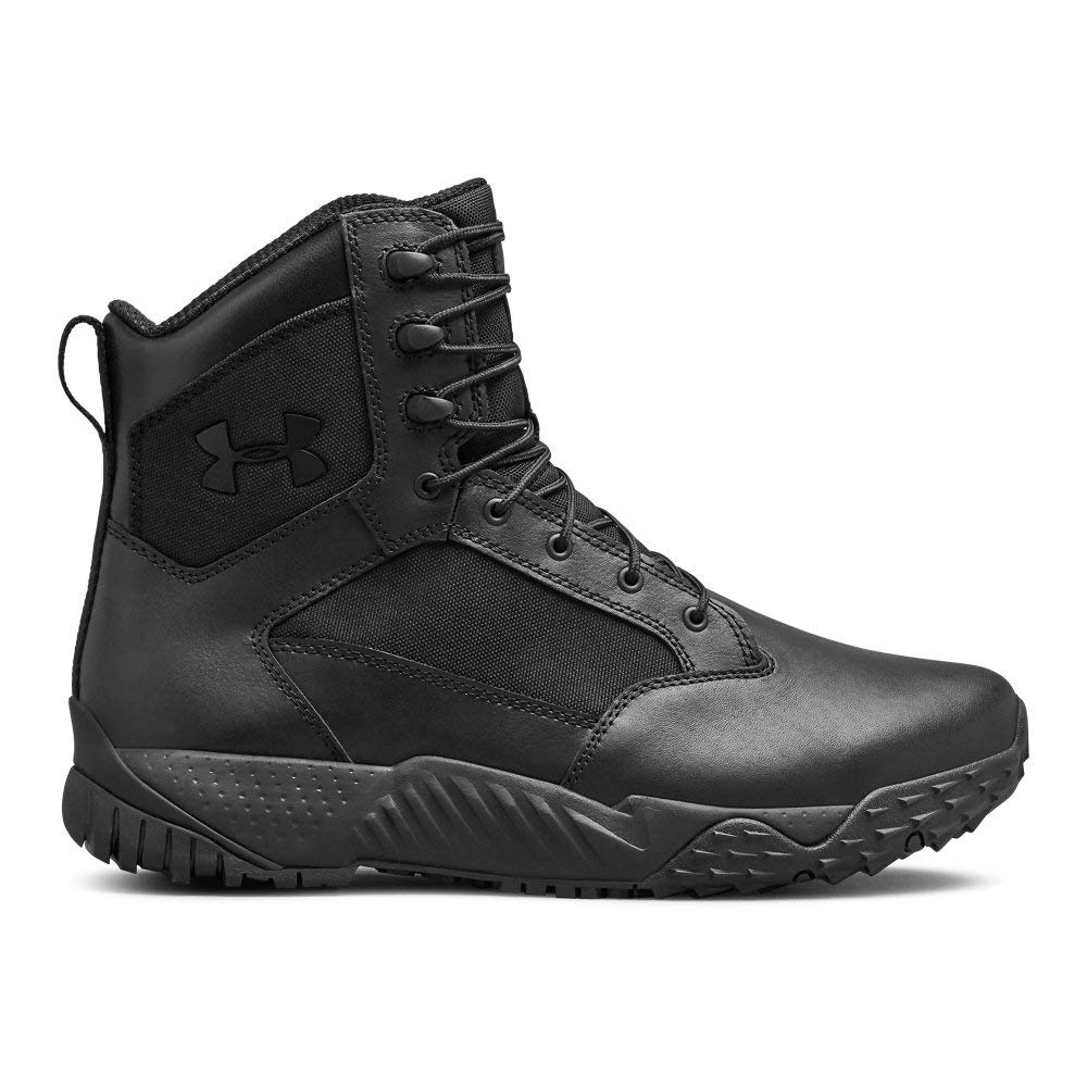 Under Armour Men's Stellar Tac Waterproof Military and Tactical Boot (001)/Black, 10.5 by Under Armour