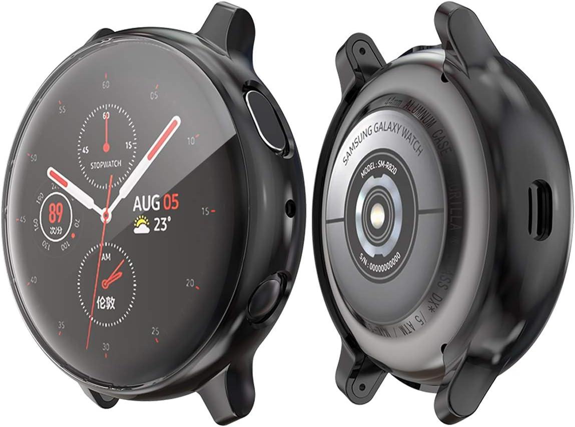 Funda Tpu Galaxy Watch Active 2 44mm Sm-r820 pack2 negra
