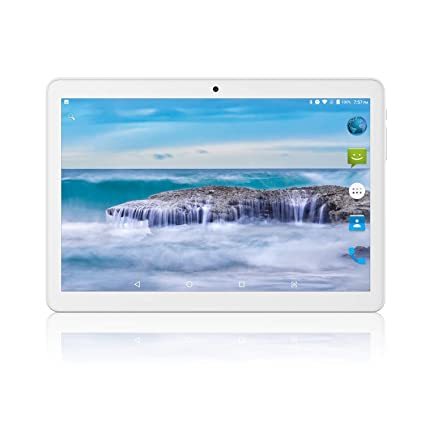 Tablet 10 inch Android 8 1 Go,3G Unlocked Phablet with Dual sim Card Slots  and Cameras,Tablet PC with WiFi,Bluetooth,GPS