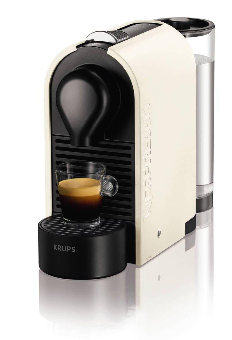 Electronic Krups Capsule Coffee Machine nespresso xn250140 u coffee machine by krups pure cream amazon co uk kitchen home