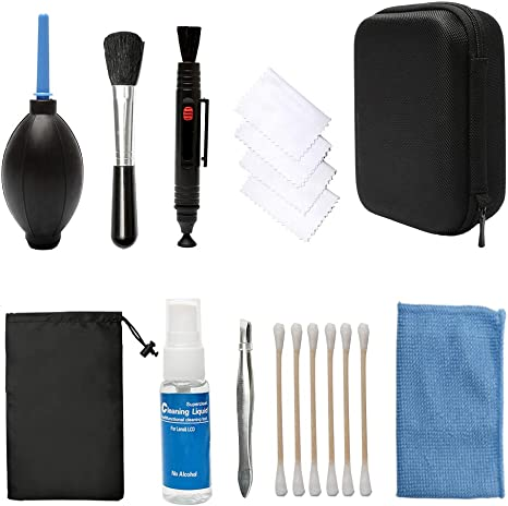 10 in1 Professional DSLR Camera Lens Cleaning Kit for Sony Nikon Canon Panasonic