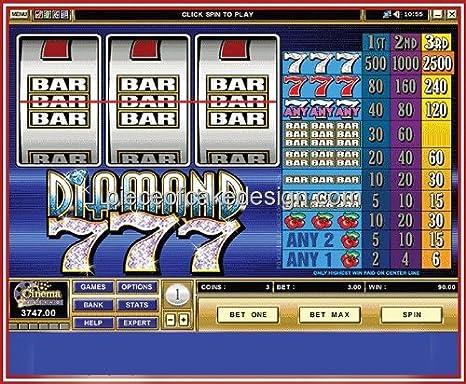 Casino Diamond 777 Cumpleaños ~ Edible imagen Pastel/Cupcake ...
