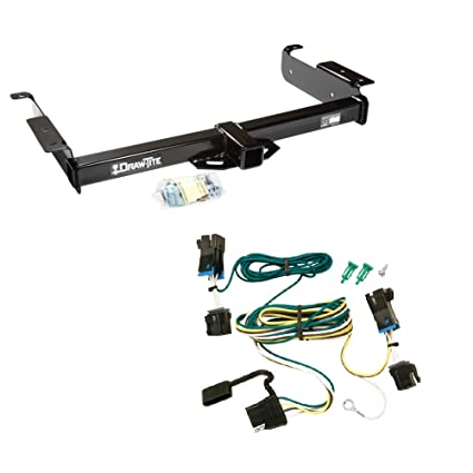 amazon com: trailer hitch + wire kit for chevrolet express 1500 2500 3500  van (fits: 04 05 06 07 08 09 10 11 12 ): automotive