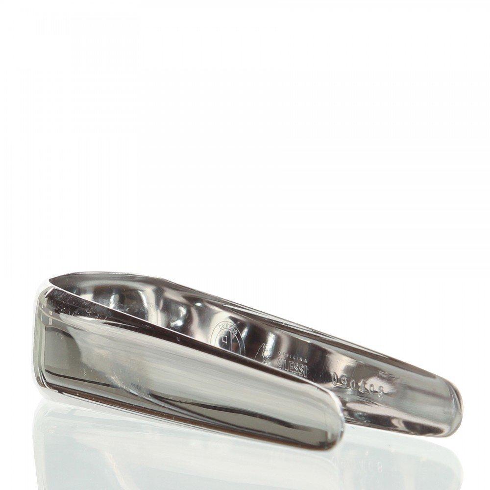 Alessi Officina Bauhaus Sugar Tongs, Silver 90042/MO