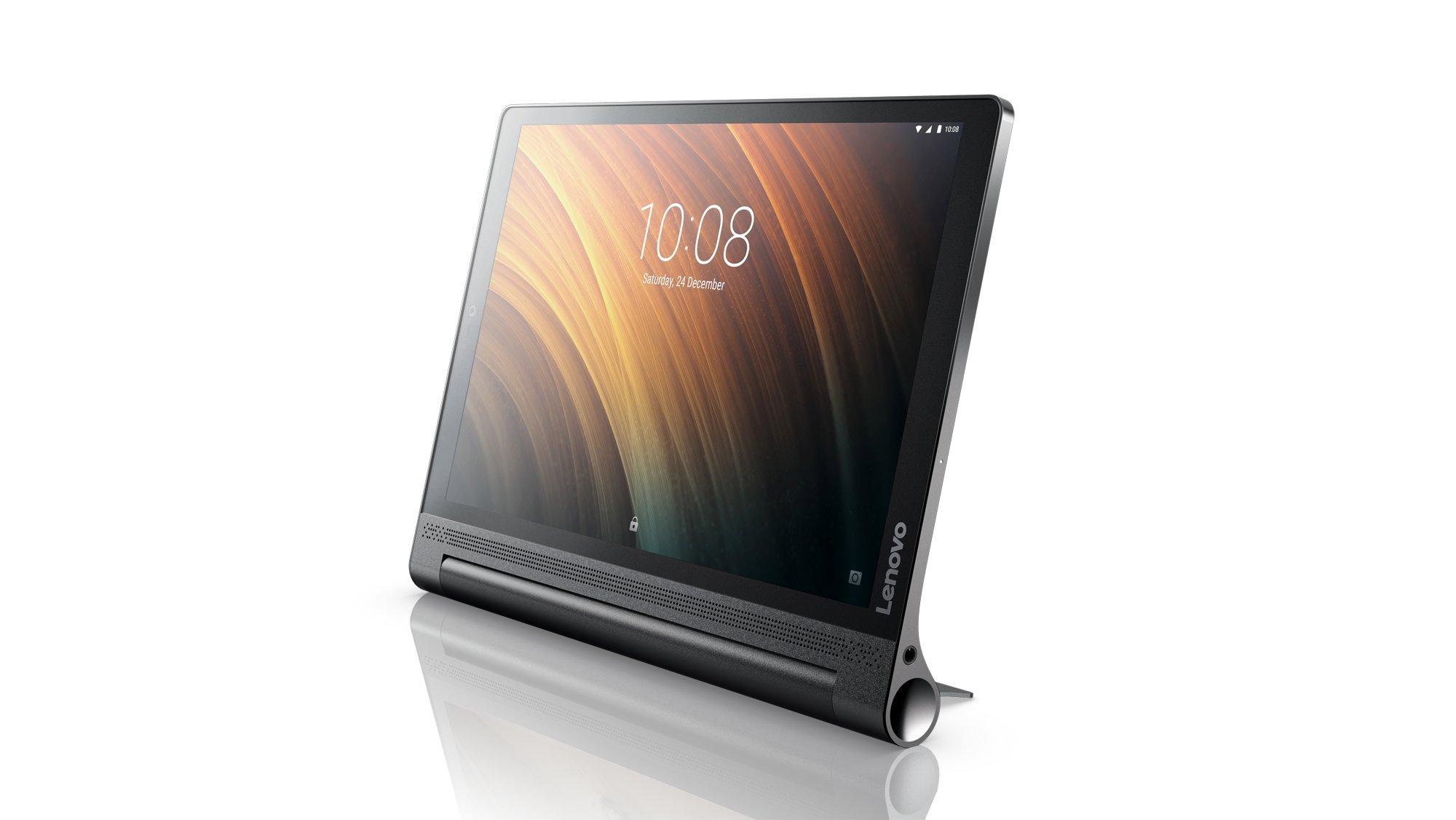 Lenovo ZA1N0007US Yoga Tab 3 Plus QHD 10.1 inch Android Tablet (Qualcomm Snapdragon 652, 3GB RAM, 32GB SSD,Android 6.0), Black by Lenovo