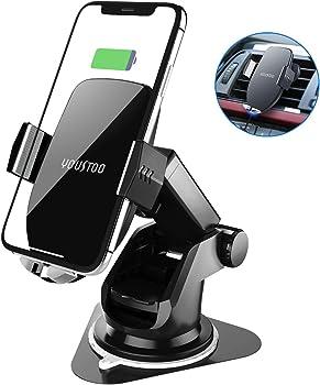 Youstoo 7.5w/10w Qi Fast Charging Car Phone Holder
