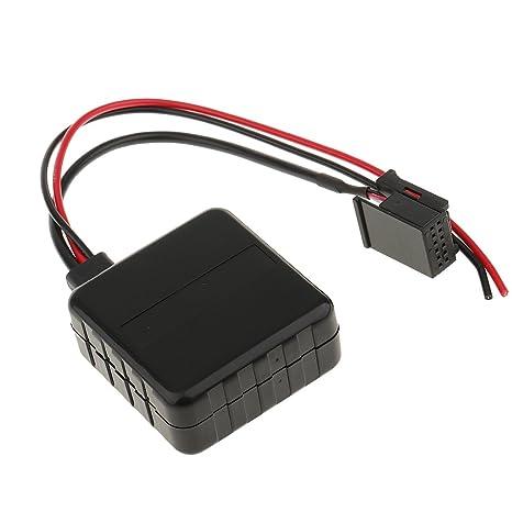 MagiDeal Cable de Audio Bluetooth Accesorios Automóvil Coche Ordenador Portátil Cámara Fotografía Teléfono Inteligente Móvil Computadora