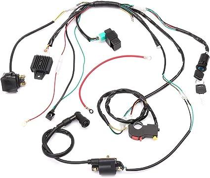 Elenxs Completa eléctrico de Arranque del Motor arnés de cableado ...