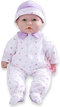JC Toys 16-Inch Soft Vinyl Baby Doll