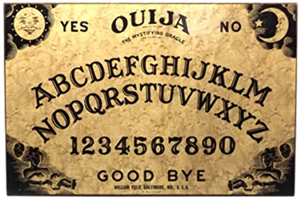 Amazon.com Vintage William Fuld Ouija Board Game Mystifying
