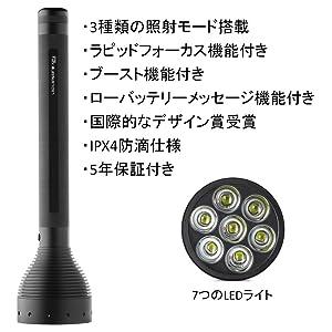 LED LENSER(レッドレンザー) X21.2 OPT-9421