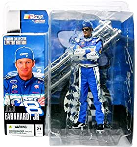Dale Earnhardt Jr # 8 Mature Collector Limited Edition Blue Oreo Chase Alternate Variant McFarlane Nascar Series with Sunglasses by McFarlane j2sjAbt