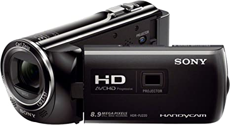 Sony HDRPJ220EB - Videocámara de 8.9 MP (Pantalla de 2.7