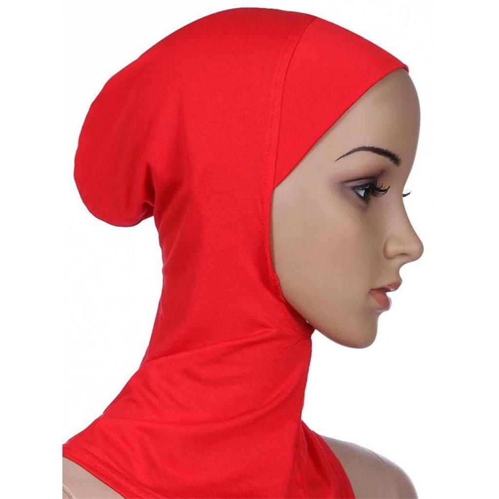 TRENTON Soft Muslim Full Cover Inner Hijab Cap Islamic Underscarf Bonnet Hat