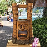 Madison Collection Tiki Gods of Fire and Water Fountain Nr