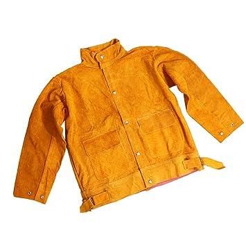 Flameer Schweißarbeiten Kleidung Set Schutzkleidung Schweißerjacke