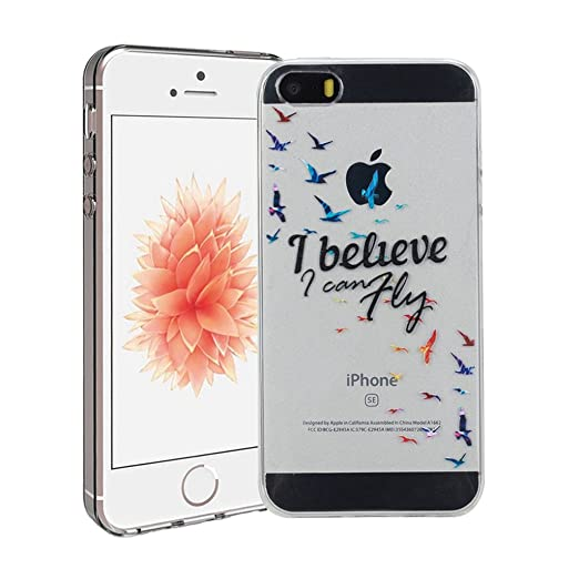 59 opinioni per Cover iPhone 5/5S/SE Silingsan Cover in Silicone TPU per iPhone 5/5S/SE Custodia