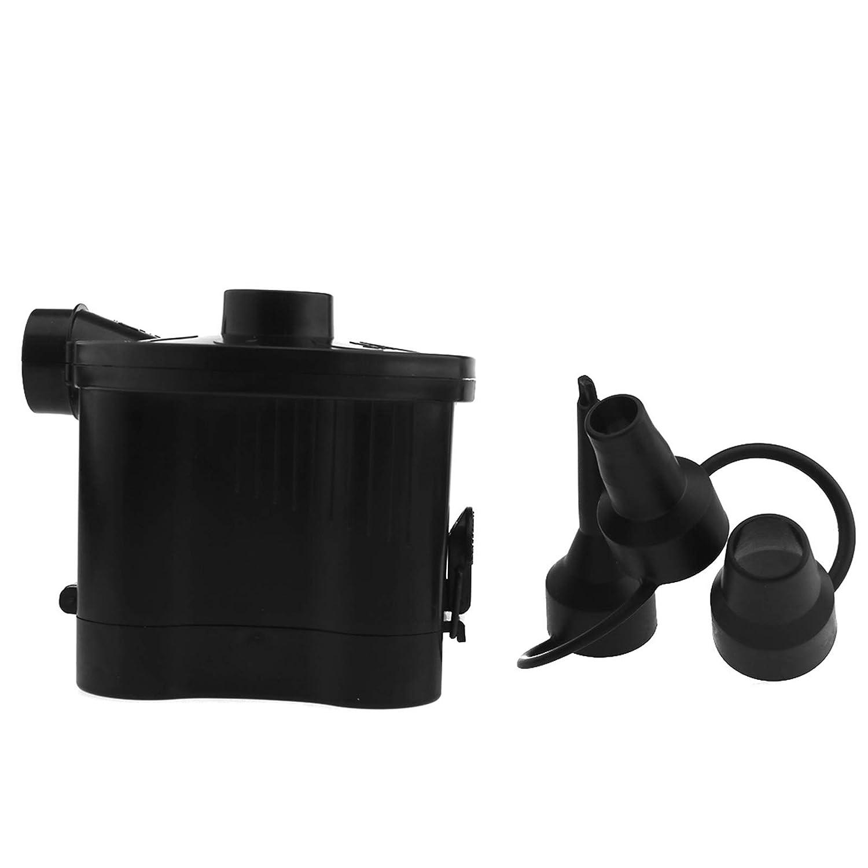 ENET Bomba de Aire el/éctrica inflador port/átil Bomba de Aire a Pilas con 3/boquillas para Cama de Aire de Juguetes