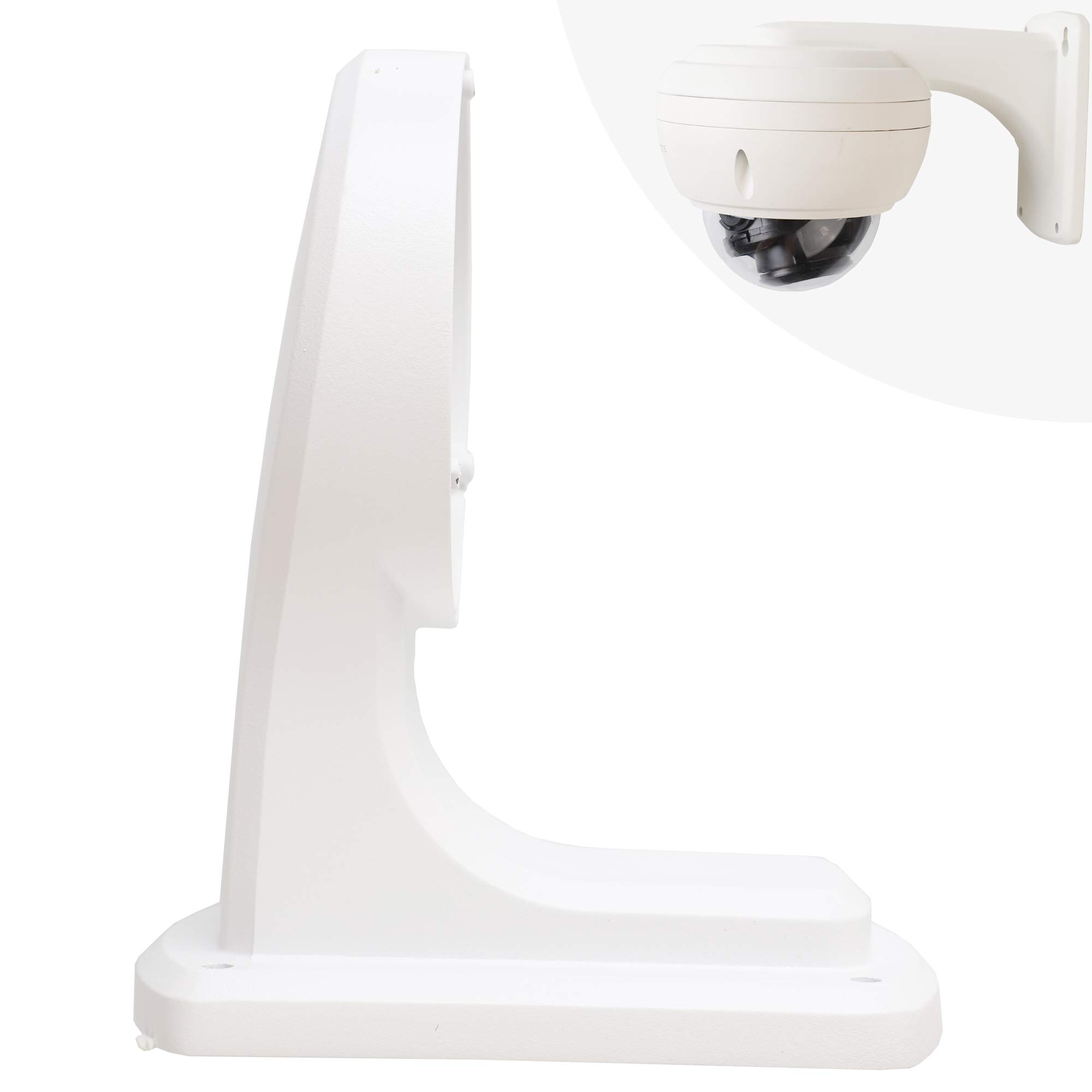 Housing & Mounting Metal Brackets for ONWOTE Dome PoE IP Security Cameras with Audio by ONWOTE