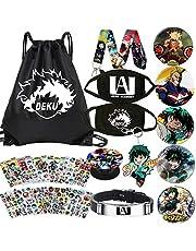 My Hero Academia Bag Gift Set Bag+Blacelet+Sleutelhanger+Knop+Telefoonhouder+Stickers of Poster of Kussensloop of Ketting