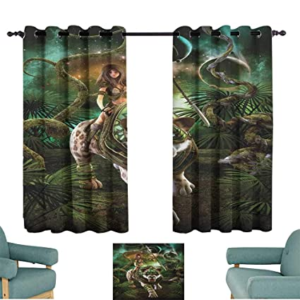 Amazon com: alisoso Fantasy World,Best Blackout Curtains