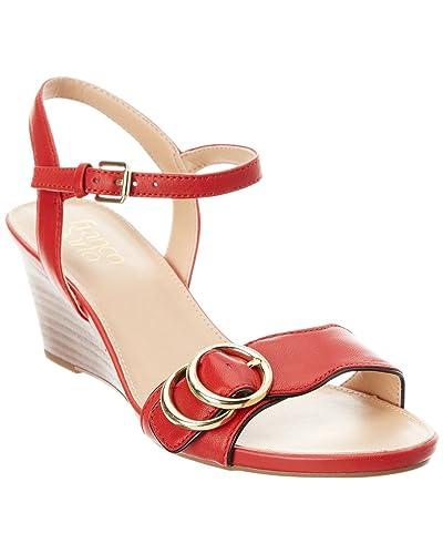 354de5b70c4 Franco Sarto Women s Dusty Apple Red Black 6 ...