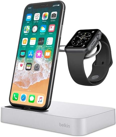 Dock di ricarica 2 in 1 per iPhone e Apple Watch   Belkin