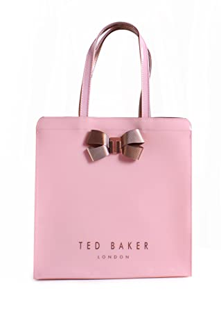 c832a0861da3 Ted Baker London Vallcon Bow Detail Large Icon Bag in Pale Pink   Amazon.co.uk  Clothing