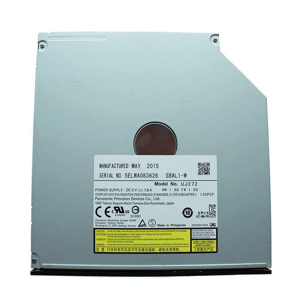 Panasonic UJ-272(Latest Model) SATA 3D Blu-ray Burner Ultra Slim Internal BD RW Optical Drive/9.5mm/Blu-Ray Drive by ISKE (Image #6)