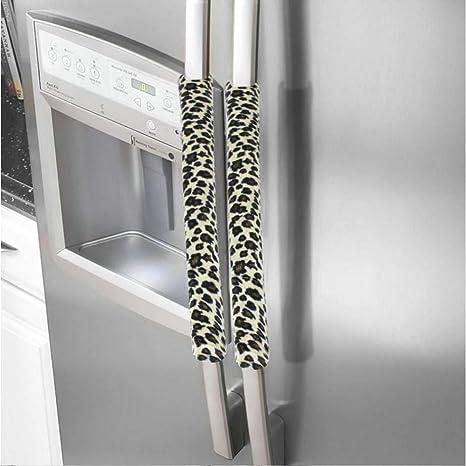 Hamkaw - Cubierta para manija de puerta de frigorífico ...