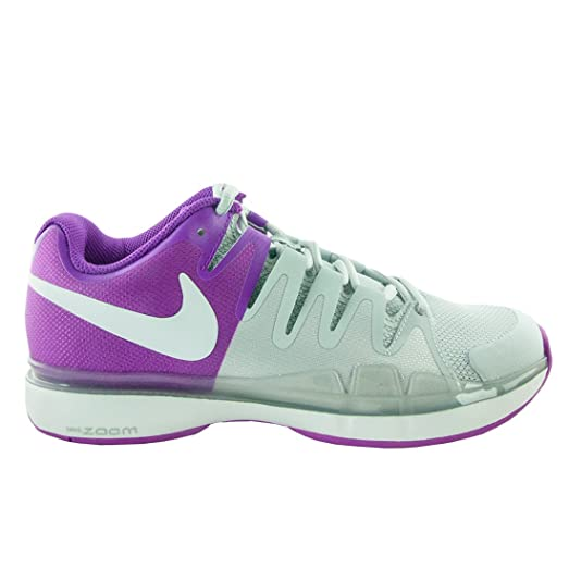 Womens Nike Zoom Vapor 9.5 Tour Pure Platinum/White/Violet Size 10