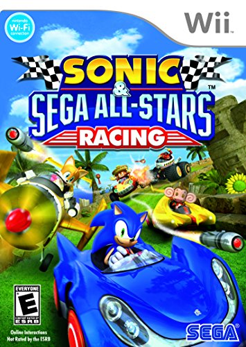 Sonic & SEGA All-Stars Racing - Nintendo Wii (Best Wii Games For 7 Year Old Boy)