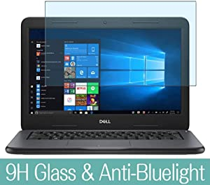 "Synvy Anti Blue Light Tempered Glass Screen Protector Compatible with DELL Latitude 13 3000 (3380) 13.3"" Visible Area 9H Protective Screen Film Protectors"