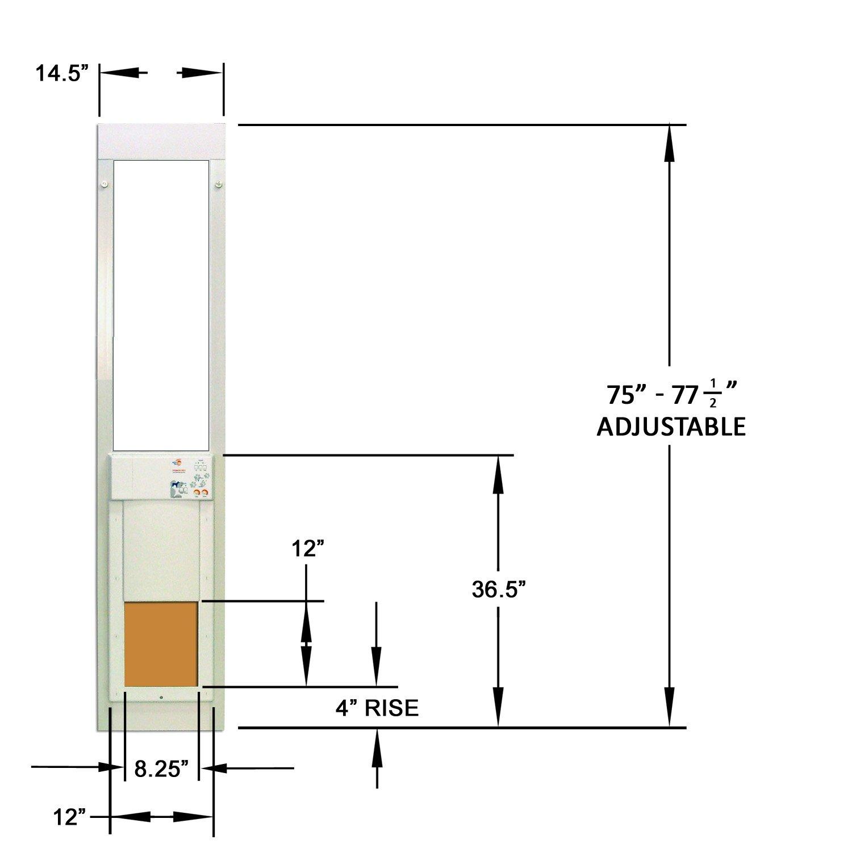High Tech Pet Medium Power Sliding Glass Door For Mediumpower Fm Transmitter Eeweb Community Dogs And Cats Shorty Doors Supplies