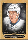 14/15 Ultimate Signature Masterpieces #HE Tomas Hertl On Card Autograph