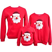 Sudadera Navidad Jersey Navideño Sudaderas Navideñas Familiares Niño Niña Sueter Hombre Mujer Reno Sweaters Estampadas…