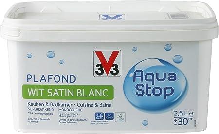 V33 Peinture Plaf Cuisine Et Salle De Bain Aquastop Amazon Fr
