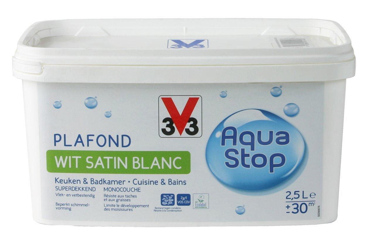 V33 Malerei Plaf. Küche und Badezimmer Aquastop: Amazon.de: Baumarkt