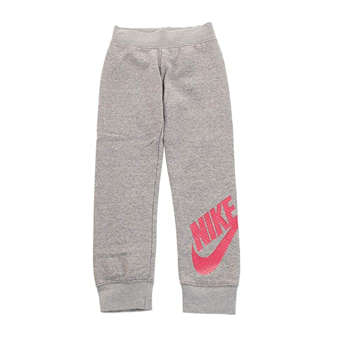 88599473b48ab Amazon.com: Nike Kids Girl's Sportswear Futura Fleece Jogger (Little ...