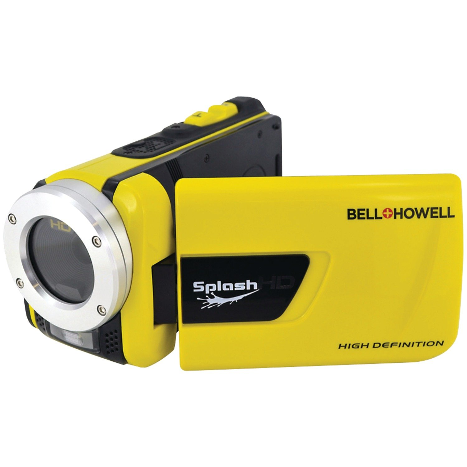 CDM product Bell+Howell Splash WV30HD-Y 1080p Full HD Digital Waterproof Video Camera with 1x Optical Zoom with 3.0-Inch LCD Screen, Yellow big image