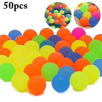 Joyibay Pelota Hinchable para Niños Mini Juguete de Rebote Color ...