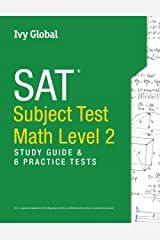 SAT Subject Test in Math Level 2: Study Guide & 6 Practice Tests Paperback